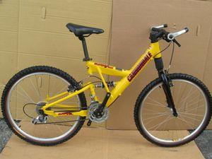 Cannondale Super V500 Full Suspension Mountain Bike Fox Vanilla X. for Sale in Salt Lake City, UT
