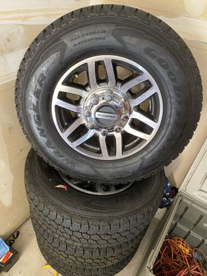 "18"" Rims and tire like new. Only drove 700 miles. for Sale in Richmond, CA"