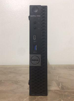 """Micro DELL Optiplex 7050 7"""" inches Core i5 Corei5 8GB RAM 256GB NVMe SSD HDMI WiFi Bluetooth Windows 10 desktop computer for Sale in Pembroke Pines, FL"""