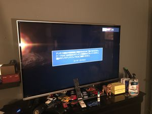 Large TV with original remote control for Sale in Tustin, CA