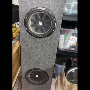 2x10 Kicker Subwoofer Enclosed Box for Sale in Brentwood, CA