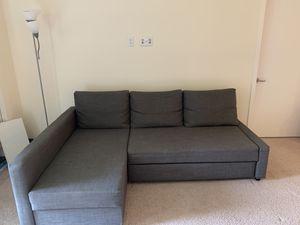 Ikea Grey Sofa cum bed for Sale in San Jose, CA