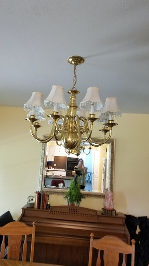 Gold Chandelier for Sale in Fort Worth, TX