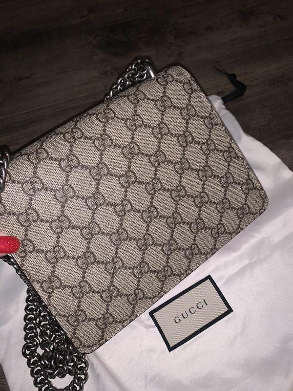 Gucci Dionysus GG Supreme mini bag In Pink 100% Authentic