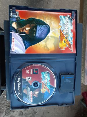 PS2 TEKKEN 4 with memory card for Sale in Washington, DC
