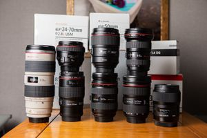 canon lenses for Sale in North Highlands, CA
