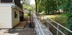 100 ft wheel chair ramp. Piece parts or entire ramp. for Sale in Lynchburg, VA