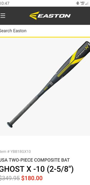 Easton Ghost for Sale in Escalon, CA