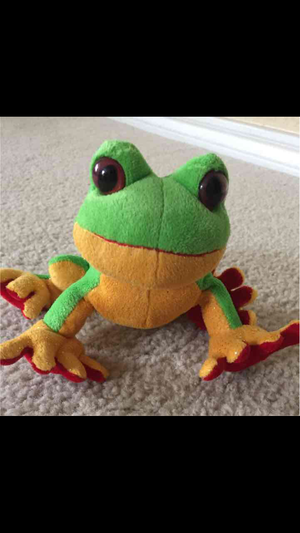 Ganz Webkinz Green Tree Frog HS109 Plush Stuffed Animal for Sale in Independence, KS