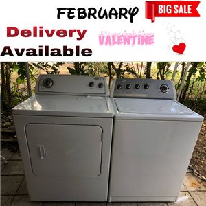 ‼️ whirlpool washer and dryer ‼️ for Sale in Brandon, FL