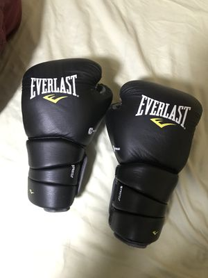 14 oz boxing gloves everlast protex3 for Sale in Hialeah, FL