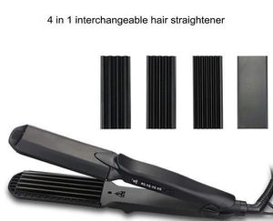 Hair Curler Double Voltage Straightener Ceramic Hair Iron Plancha de Pelo L-C280 for Sale in Miami, FL