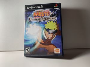 PlayStation 2 - Naruto Uzumaki Chronicles PS2 for Sale in Buford, GA