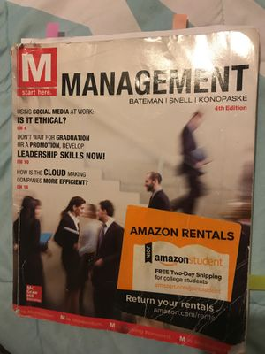 Management 4th Edition for Sale in Houston, TX