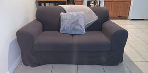 Love seat & couch (original color blue) for Sale in Philadelphia, PA