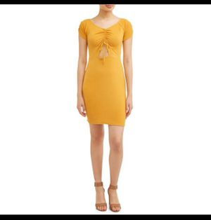 Yellow/mustard dress size M for Sale in Pasadena, TX