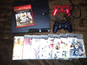 PS3 games and two controller for Sale in Lewisville, TX