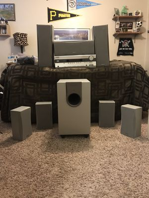 Onkyo Home Surround Sound Theater Speaker Package for Sale in Heidelberg, PA