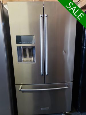 💥💥💥KitchenAid AVAILABLE NOW! Refrigerator Fridge With Icemaker #1493💥💥💥 for Sale in Riverside, CA