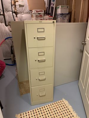 HON vertical file cabinets for Sale in NO POTOMAC, MD