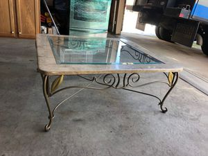 Marble Coffee Table for Sale in Aurora, CO
