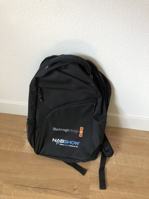 Blackmagicdesign Backpack Fashion Brand Travel Sports Laptop Backpack for Sale in Glendale, CA