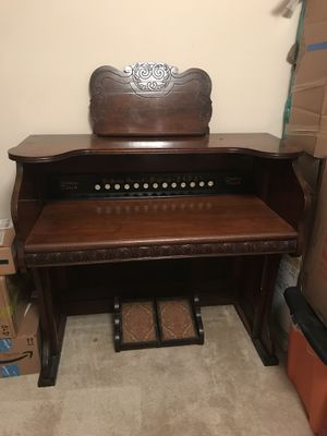 Antique Writing Desk made from 19th Century Church Organ for Sale in Sterling, VA