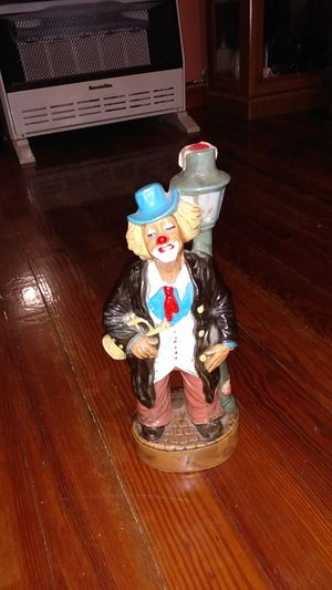 129 best pierrot clown decanter never open made in Italy for Sale in Shinnston, WV