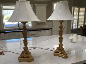 Pair of Sculpter creations lamps for Sale in Paradise Valley, AZ