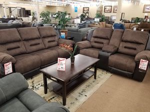 Ashley sofa and love recliners for Sale in Phoenix, AZ