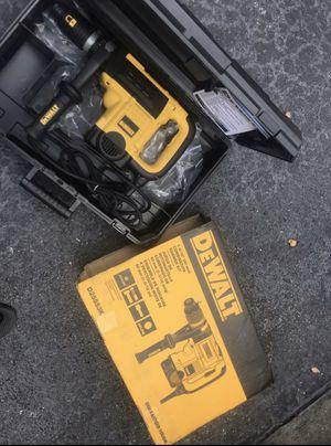 Dewalt hammer drill chipping hammer for Sale in Miami, FL