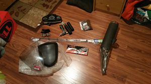 Stock and aftermarket parts for a 2008-2012 kawasaki ninja 250r for Sale in Mount Airy, MD