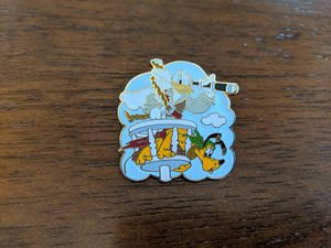 Disney Donald and Pluto pin for Sale in Glendale, AZ