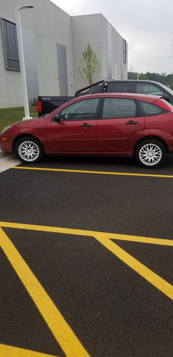 ford focus rims set off 4 all black