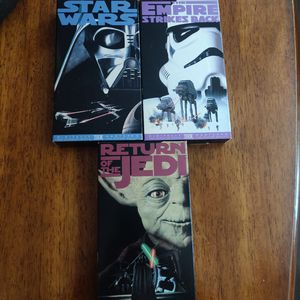 Star Wars Trilogy VHS Movies for Sale in San Diego, CA