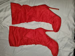 Holiday Red Platform Boots for Sale in Gallatin, TN
