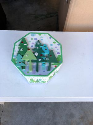 Decorative Christmas box for Sale in San Jose, CA