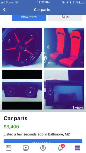 Car parts for Sale in Dundalk, MD
