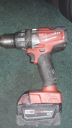 Milwaukee m18 redlithium fuel xc drill for Sale in Columbus, OH