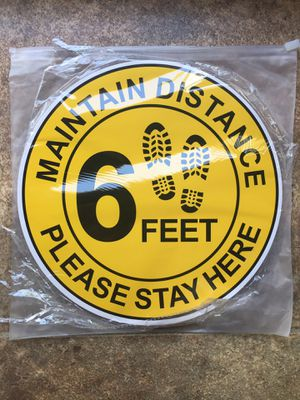 6 Feet Stickers - Brand New for Sale in Hudson, FL
