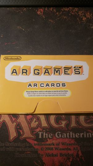3DS AR Cards for Sale in Detroit, MI
