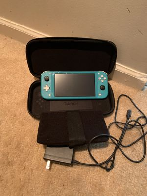 Nintendo switch with Pokémon case and two downloaded games for Sale in Aberdeen, MD
