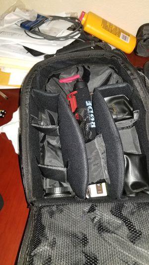 Vivitar Camera Backpack Only for DSLR Camera for Sale in Las Vegas, NV