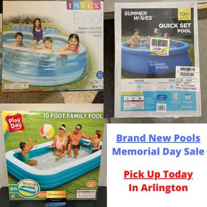 Brand New Above Ground Pools on Sale for Memorial Day. for Sale in Arlington, TX