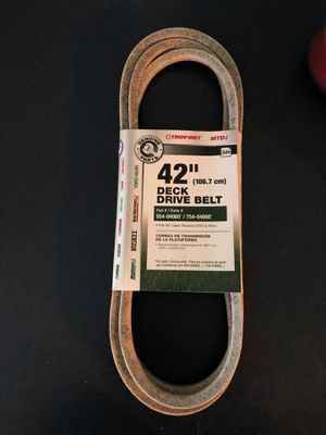 """42"""" Deck Drive Belt for Sale in Cleveland, TX"""
