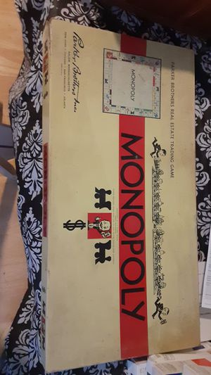 Original monopoly game for Sale in Southbridge, MA