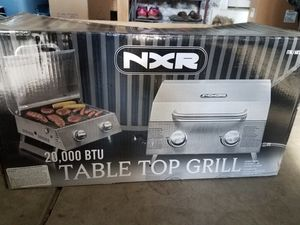 NXR Tabletop Grill for Sale in Shorewood, IL