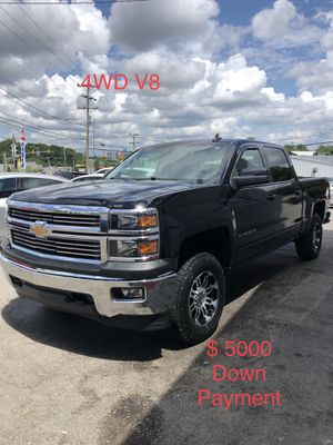 2015 Chevy Silverado 4WD $ 5000 Down Payment for Sale in Nashville, TN