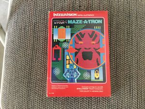 Intellivision Tron Maze-A-Tron for Sale in CHRISTIANSBRG, VA