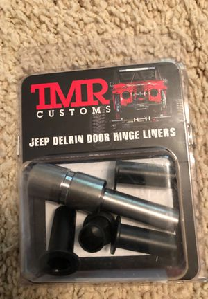 A set of TMR Customs Derlin Door Hinge Liners with install tool. For Jeeps CJ,YJ,TJ & LJ models . for Sale in Indian Trail, NC